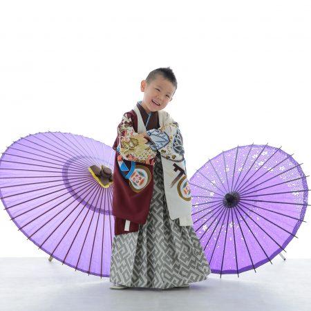 七五三☆5歳男の子☆羽織袴♪